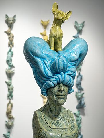 Covetous Amp Rapture Misty Gamble Clay Figure Sculpture